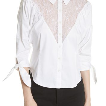 Opening Ceremony Lace Yoke Shirt | Nordstrom
