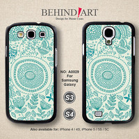Samsung Galaxy S4 case, Samsung Galaxy S3 case, Phone Cases, Phone Covers, Skins, Case for Samsung, Floral Phone cases-A0029