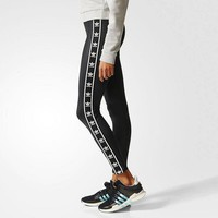 adidas Originals Fashion Running Leggings Sweatpants-2
