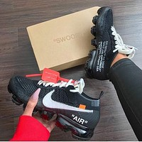OFF-WHITE x Nike Air Vapor Max  Leisure sports shoes