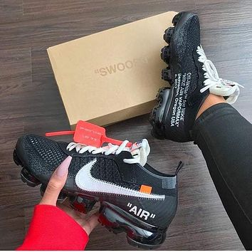 OFF-WHITE x Nike Air Vapor Max Leisure sports shoes 4dd1bcaa8