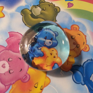 Carebears Marble Magnet