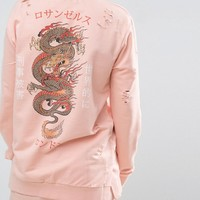 Criminal Damage Dragon Sweatshirt at asos.com