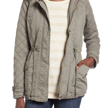 Thread & Supply 'My Juliet' Faux Fur Hood Quilted Parka | Nordstrom