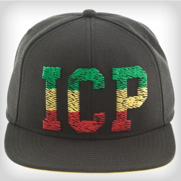 ICP Scribble Rasta Snapback Hat from Spencers Gifts f6556cb3e0e6
