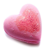 Valentine's Day Lick Me Allover Heart Bath Bomb