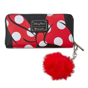 Disney Parks Minnie Polka Dot Wallet by Loungefly New with Tags