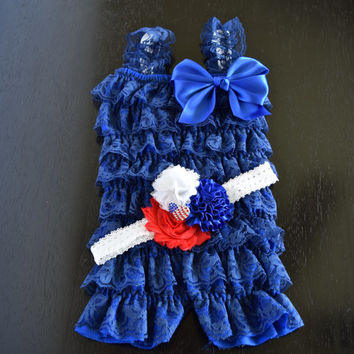 Cake Smash Outfit Girls, Fourth of July Outfit, Fourth of July Romper, Baby Romper, Girls Romper, Fourth of July Baby Girl, Toddler Romper