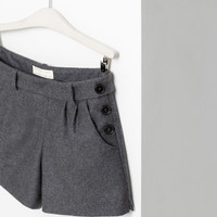 BERMUDAS WITH BUTTONS - Skirts and shorts - Girl (2 - 14 years) - Kids | ZARA United States