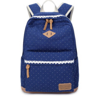 Cute Dots Travel Bag Backpack