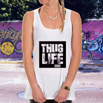 Thug Life,TuPac 2Pac for men,women,tank top