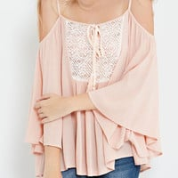 Blush Off the Shoulder Blouse