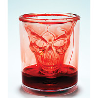 Bloody Skull Shot Glass