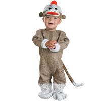Sock Monkey Infant Costume