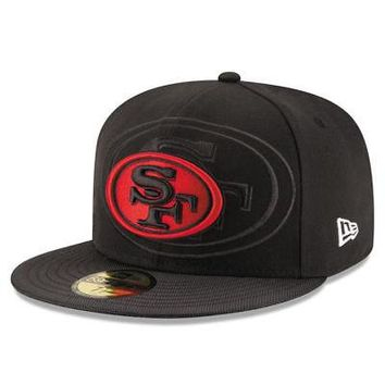 2f301d45 San Francisco 49ers New Era 59FIFTY NFL On Field Sideline Fitted Cap 5950  Hat