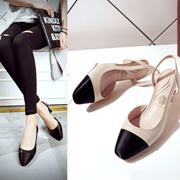 Design Summer Shoes High Heel Stylish Casual Sandals [6050202305]