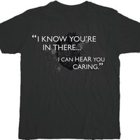 House M.D. I Know You're In There Charcoal T-shirt  - House - | TV Store Online