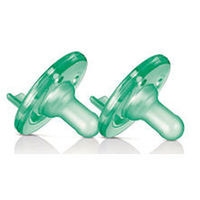 Philips AVENT BPA Free 3+ Months 2 Pack Soothie Pacifier - Green