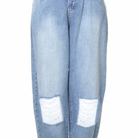 SURF RIPPED BAGGY JEANS BY BOUTIQUE