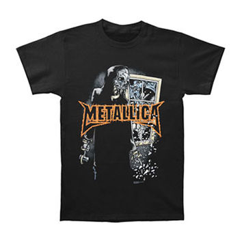 Metallica Men's  Dirty Window T-shirt Black Rockabilia