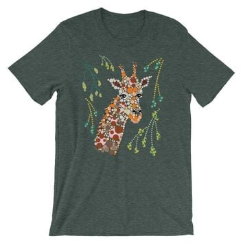 Cute Giraffe Shirt Graphic Tee - Shipping Included