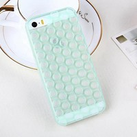 Cute 3D Bubble Wrap Design Soft TPU Phone Case Cover for iPhone 6
