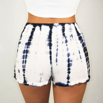 Tie Dye Beach Shorts | Disruptive Youth