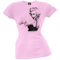 Marilyn Monroe - Shoulder Juniors T-Shirt