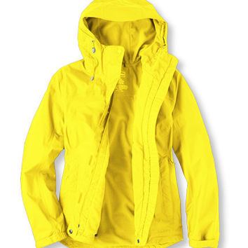 Women's Fleece-Lined Trail Model Rain Jacket | Now on sale at L.L.Bean