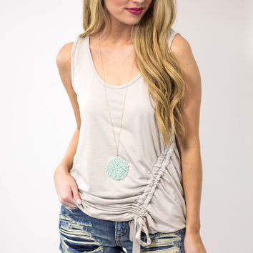 Wishful Thinking Cinched Top