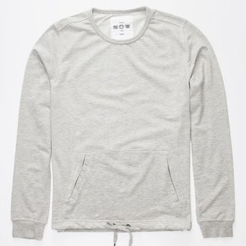 Ezekiel Gunner Mens Sweatshirt Heather Grey  In Sizes