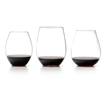 Riedel Set of 3 Stemless Red Wine Tasting Tumblers