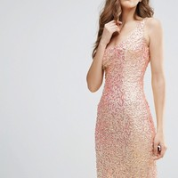 French Connection Celia Sequin Cami Dress at asos.com
