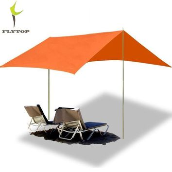 400*295CM FlyTop Outdoor Beach Awning Tent Camping Sun Shelter gazebo pergola barraca praia Large Shade Protection Tents Canopy