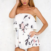 Fancy Floral Playsuit