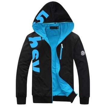 2017 Spring New Fashion Letters Printed Mens Hoodie Good Quality Plus Size Hooded Sweat Shirt
