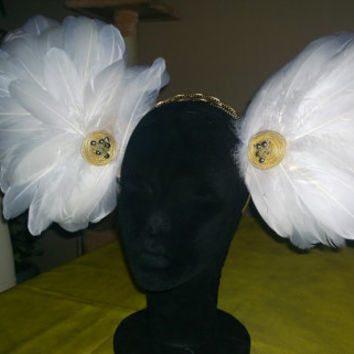 Olymp feather headdress