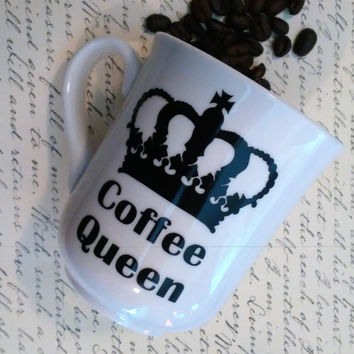 Coffee Queen coffee cup