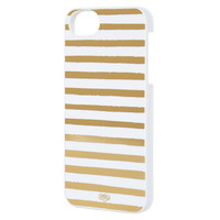 Rifle Paper Co. - Gold Stripes iPhone 5 Case - SLIM