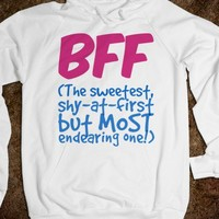 BFF - The Sweetest, Shy at First Most Endearing One - Connected Universe