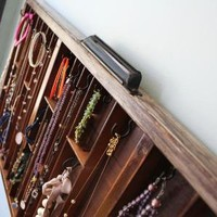 Printer Drawer Necklace and Bracelet Display by bluebirdheaven