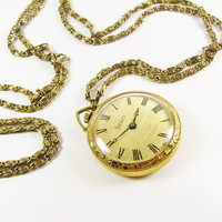 Vintage Sears Open Face Pocket Watch / Swiss Made Pocket Watch / Excellent Working Condition - Montre à Gousset.