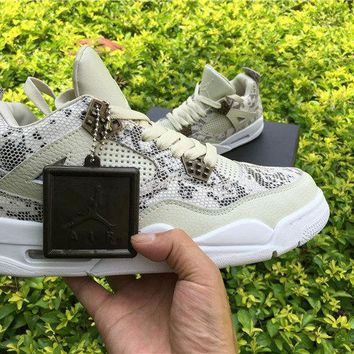 Nike Air Jordan 4 IV Retro Premium Pinnacle Snakeskin 819139-030