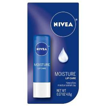 Nivea Moisture Lip Care - .17 oz