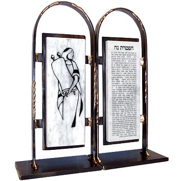 Bat Mitzvah Bookends By Gary Rosenthal In Multi-Colored,black,gold Size: 4X9.5