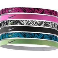 Nike Women's Swoosh Headbands - 6 Pack | DICK'S Sporting Goods