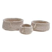 Pom Pom at Home Baya Set of 3 Baskets | Nordstrom