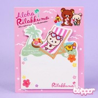 Aloha Korilakkuma Sticky Notes