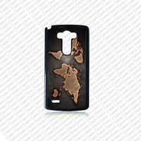 LG G4 case, Lg G4 Phone case, World Map Lg G4 case, Cute Lg G4 case