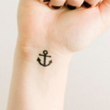 Anchor Temporary Tattoos